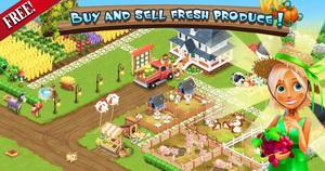 Скриншот 1 из игры Happy Farm для Андроид