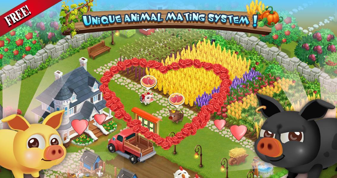 Happy farm на андроид