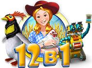 Веселая ферма. 12 в 1