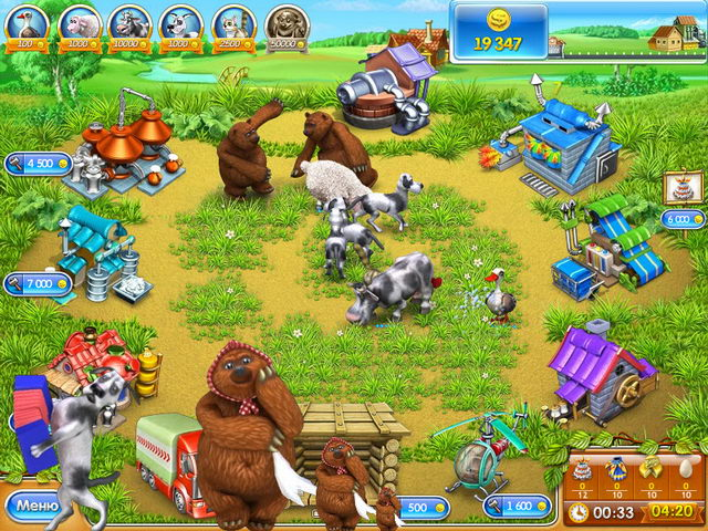 Farm frenzy 3 / веселая ферма 3 на android.