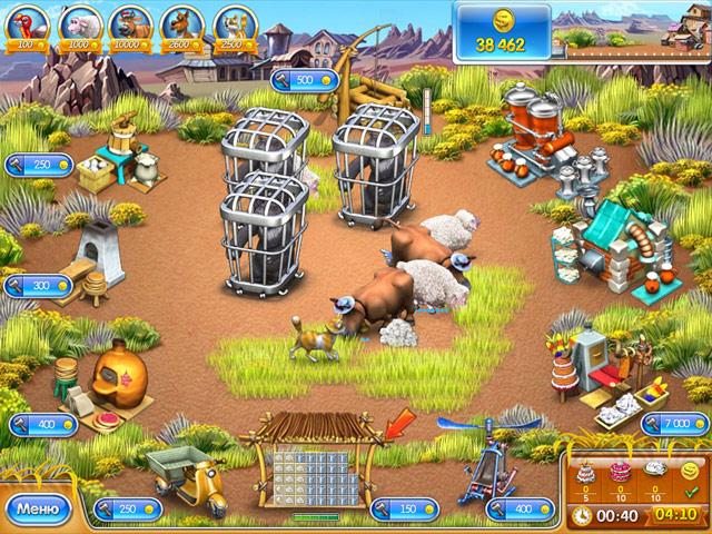 Игра веселая ферма 3. Ледниковый период, скачать бесплатно.
