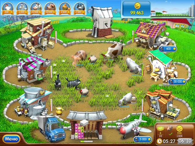 Веселая ферма печем
