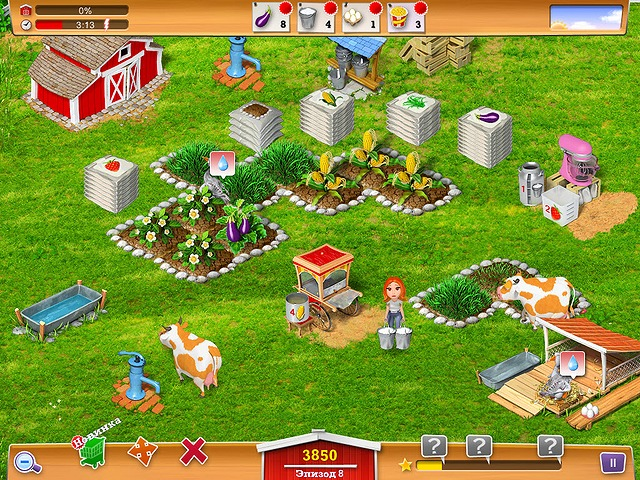 Игры зеленая ферма на телефон декабря x0432