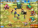 Скриншот игры Веселая ферма 3. Мадагаскар