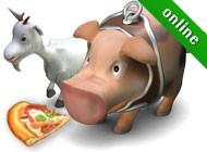 Игра Веселая Ферма печем пиццу онлайн